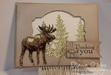 """Stamp:Walk in the Wild / These handmade cards feature stamps from """"Walk in the Wild"""" by Stampin' Up."""