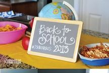 Back To School Party / It's Back to School time! Doesn't every mother secretly look forward to this - just a little bit! Teachers, students, and busy moms - this board is for you!