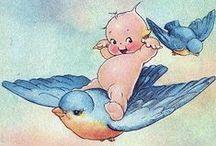 Vintage Print - BIRDS