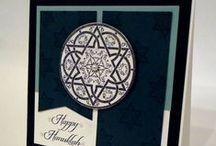 Cards: Hanukkah* / Handmade Hanukkah cards