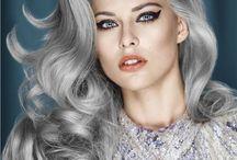Hair - Long/Medium #3 / Long and medium hairstyle options.