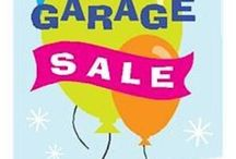 Garage Sale Tips / Great tips for clearing out the junk.