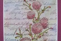 """Stamp:Delicate Florals* / These handmade cards feature Penny Black's """"Delicate Florals"""" stamp set."""