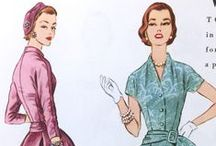 Vintage Pattern Catalog Pages / From The McCall Pattern Company's archives: Pages from old Butterick, McCall's and Vogue Patterns catalogs. Dating from the late 1800s to the 1990s.