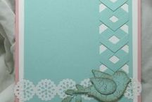 Focus:Chevron Punch / Handmade cards using the Stampin' Up Chevron Punch.