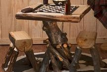 LOG FURNITURE / by Janis Buffington