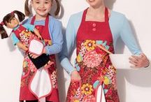 Craft & Apron Patterns / Sewing patterns to make all sorts of cute craft and apron projects.