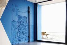 • BLUE / bleu clair, pastel, bleu nuit, bleu anthracite, bleu pétrole #color #blue #couleur #bleu
