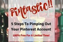 Pinterest / I'm learning more and more about the importance of Pinterest in promoting your brand. Plus it's a whole lot of fun! AnEmpoweredSpirit.com