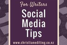 For Writers - Social Media Tips
