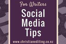 For Writers - Social Media Tips