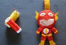Accessori - Supereroi / Se hai sempre con te un supereroe la vita è molto più facile, no? :D