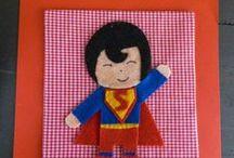 Quadri - Supereoi / Impossibile non amarli! I supereroi ci fanno sempre sognare ricordandoci che si resterà bambini per sempre