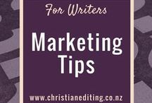 For Writers - Marketing Tips