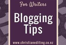 For Writers - Blogging Tips