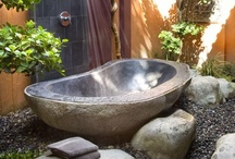 Outdoor Showers and Baths / by Deb Worrell