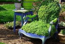 Recycled Garden Design