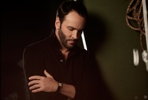 "Tom Ford  / Thomas Carlyle ""Tom"" Ford is an American fashion designer and film director. He gained international fame for his turnaround of the Gucci fashion house and the creation of the Tom Ford label before directing the Oscar-nominated film ""A Single Man"". / by Debbie Kriegh"