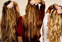 Long, flowing locks / Hair care, hair ideas, hair ideals.  / by Madison Taylor