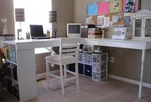 home office ideas✏ / by Mandy Holton