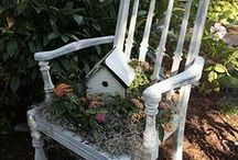 Birdhouses/Birdcages/Birdbaths/Bird Feeders