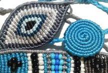 Macrame jewellery