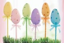 Easter / Easter, easter ideas, handmade easter cards, easter crafts, easter food, easter baskets, gifts, and activities.