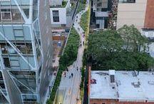 HighLine /  High Line es una línea ferroviaria transformada como parque público en el West Side de Manhattan. Es propiedad de la Ciudad de Nueva York, y mantenido y operado por Amigos de la High Line. Fundada en 1999 por residentes de la comunidad, los Amigos de la High Line lucharon por la conservación y la transformación de la High Line.