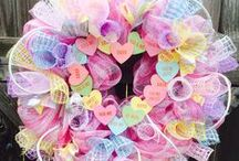 Valentine's Day / Valentine's Day Crafts, Handmade Cards, Decorations, Gifts, and Fun Activities