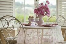 Shabby Chic 2 / A very feminine  and Chic Style to make any room feel cozy and Beautiful!  I love shabby Chic.  / by Patty Vogl