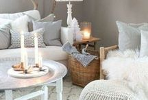 Cozy *home white & wood*