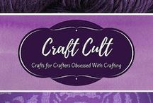 Craft Cult / Crafts for Crafters Obsessed with Crafting! Crafts and DIY projects only. You must repin 1 pin for every 1 that you add. Limit of 5 pins per day.