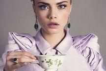 Celebrities Drinking Tea / Celebrities drinking tea.