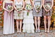 The Maids / bridesmaids, groomsmen, flower girls, ringer bearers, mother of the bride (MOB), mother of the groom (MOG) father of the bride (FOB), father of the groom (FOG), all things fashion and inspiration for your wedding VIP team.