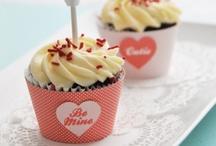 cupcakes / big cupcakes, small cupcakes, stuffed cupcakes, layered cupcakes