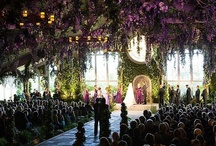 """The Ceremony / indoor and outdoor wedding ceremony decor, wedding aisle, wedding venues, flowers, chuppahs, and all things """"i do""""."""