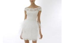 Little White Dress / little white dress, cocktail dress, short white wedding gowns, bridal dresses xo