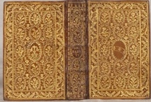 Fine Leather Bindings / Fine Hand-Tooled & Gilt Leather Bookbindings. Calf, Morocco and Vellum.  / by Jonathan B. Pons