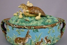 Majolica / Antique Majolica from England, France, Italy and America. / by Jonathan B. Pons