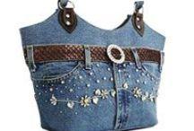 Jeans Bags Ideas - Bolsas