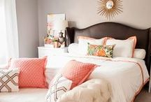 Bedroom ideas / by Courtney Cranford