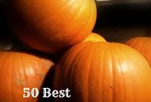 the great PUMPKIN! / PUMPKIN RECIPES / by Debi O'Brien