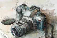 Aquarela - Watercolor