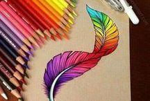Kreslení, inspirace