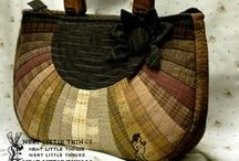 Patchwork - tašky / Tašky, kabely, kabelky, batohy, peněženky...