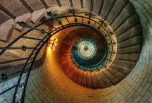 Takový schody do nebe... / krásná a zajímavá schodiště
