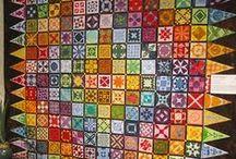 Patchwork - Dear Jane / Deky,polštáře, jednotllivé bloky