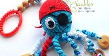 Chobotničky a jiné hračky / Chobotničky a podobné hračky pro malinká miminka