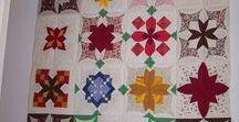 Patchwork - atarashii / skládaný patchwork: atarashii, cathedral windows, origami,mexican star....