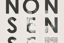 Typography / by Jennie Li
